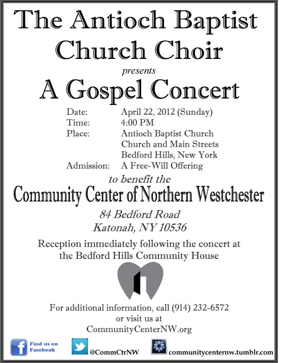 Join Choir Flyer images